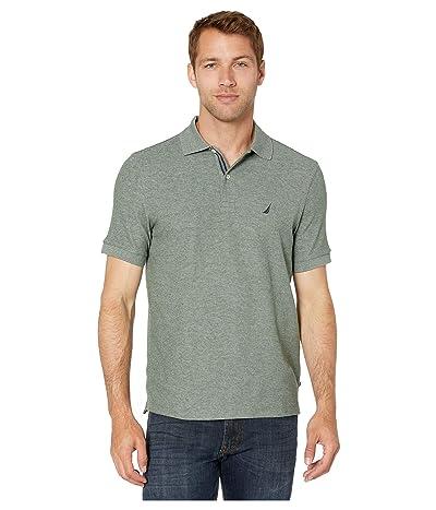 Nautica Solid FCA Deck Shirt (Green) Men