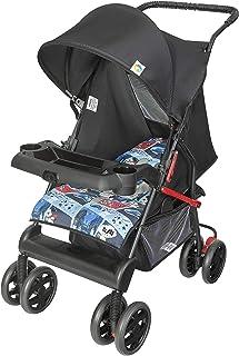 Carrinho de Bebê Thitus, Tutti Baby, Azul, Até 15 kg