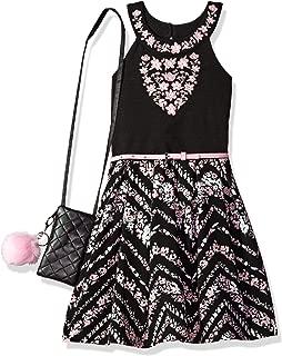 Beautees Girls' Big Halter Dress