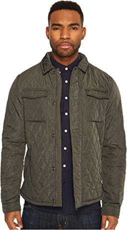 Lightweight Quilted Shirt Jacket in Nylon Quality