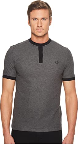 Fred Perry - Henley Collar Pique Shirt