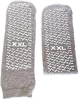 SPECIAL PACK OF 3-Slipper Socks; XXL Grey Pair