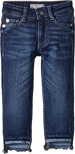 Chloe Dark Wash Skinny with Released Step Hem in Arcade (Big Kids)
