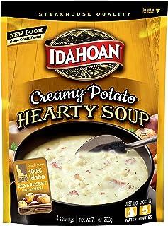 Sponsored Ad - Idahoan Creamy Potato Hearty Soup, Made with Gluten-Free 100-Percent Real Idaho Potatoes, 7.1 oz Pouch (Pac...