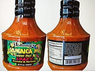 Johnny`s Jamaica Me Sweet, Hot and Crazy Marinade Dressing (2 pack)