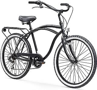 sixthreezero Around The Block Men's Beach Cruiser Bicycle OR eBike 250W and 500W..