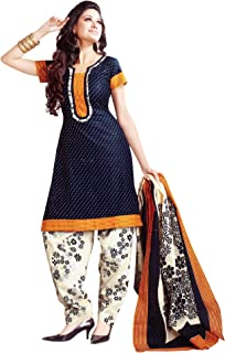 7be3055f34 Amazon.in: Blues - Dress Material / Ethnic Wear: Clothing & Accessories