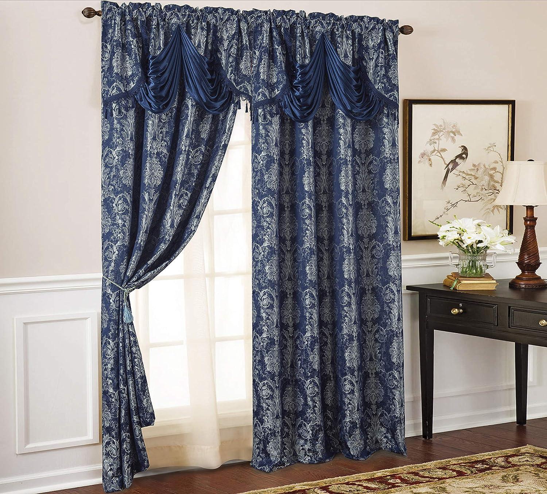 大人気! Olivia Gray Gloria Floral Damask Textured Jacquard 54 S 定価の67%OFF x in. 84