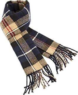 CityComfort Checked Scarf For Men   Reversible Mens Scarfs Winter With a Trendy Tartan Design   Super Soft Warm Winter Ess...