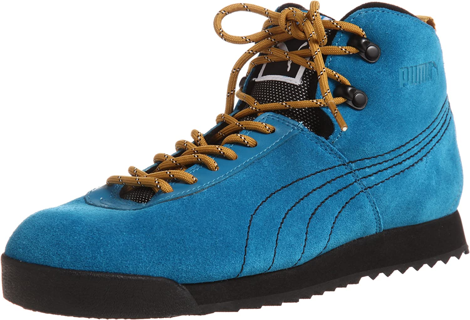 Today's only PUMA Roma Hiker Mens Trainers Boots Hiking Suede 5 ☆ very popular