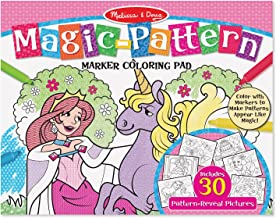 Melissa & Doug Magic-Pattern Marker Kids' Coloring Pad - Princesses, Ponies, Parties, and More
