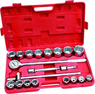 Hilka 4102102-3/4-Pulgadas Dr. Socket Set Metric (21 Piezas)