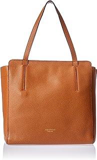 Oroton Women's Avalon Tote Bag, Cognac, Small