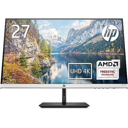 HP モニター 27インチ 4K ディスプレイ 解像度3840x2160 非光沢 IPSパネル 超薄型 省スペース HP 27f 4K (型番:5ZP65AA#ABJ)