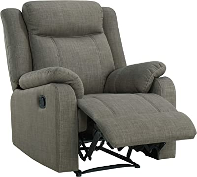 Amazon.com: Silla reclinable para sofá, sofá o sofá, Tela ...