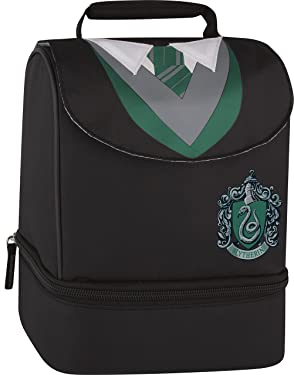 Thermos Licensed Dual Lunch Kit, Harry Potter - Slytherin
