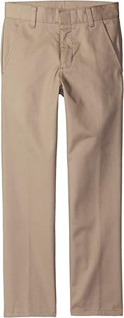 Nautica Kids Husky Flat Front Pants (Big Kids)