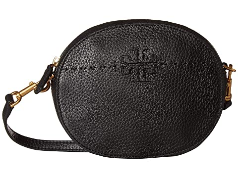d42af79b7aa1 Tory Burch Mcgraw Convertible Round Crossbody at Zappos.com