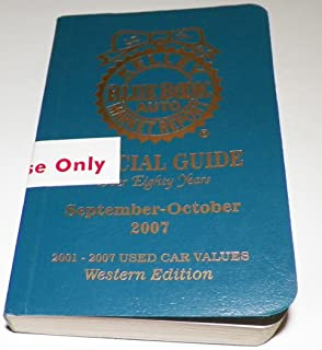 Kelley Blue Book Auto Market Report, Official Guide for September - October 2006, 80th Anniversary Edition