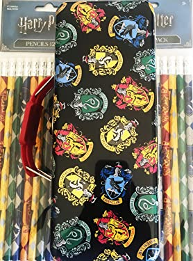 Harry Potter Pencil Supply Box and 24 Harry Potter Pencils