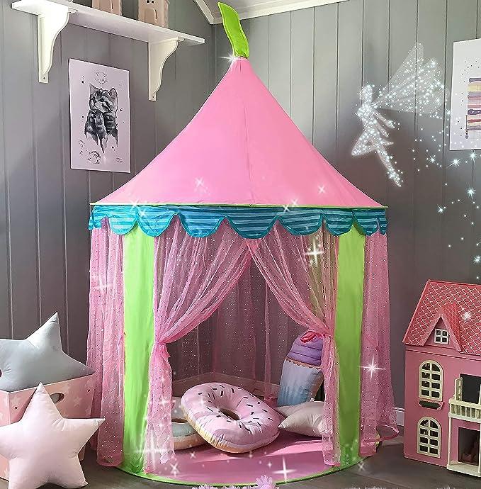 4445 opinioni per Tiny Land Tenda Gioco con Borsa Tote per Bambine, Portatile Castello della