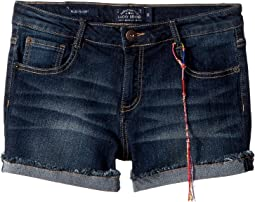 Riley Denim Shorts in Barrier Wash (Toddler)