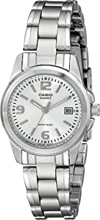 Casio Women 's LTP1215A-7ACR reloj de acero inoxidable