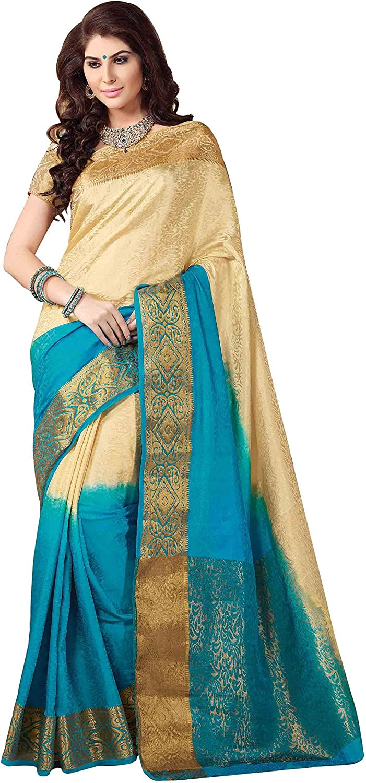 Rajshri Fashions Women's Grand Bridal Broad Boardered Saree