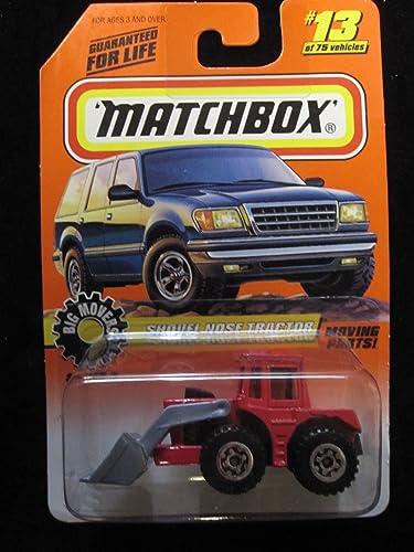 la calidad primero los consumidores primero Shovel Nose Tractor Matchbox (rojo) Big Movers  13 13 13 by Matchbox  mejor moda