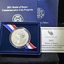 2011 medal of honor commemorative coin