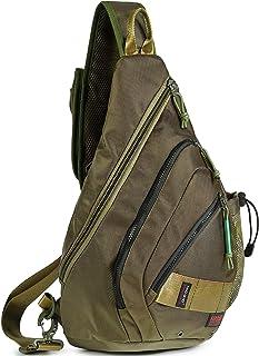 حقيبة ظهر سلينغ، حقائب كتف بحزام 13.3 بوصة للكمبيوتر المحمول للسفر في الهواء الطلق