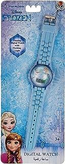 Disney Frozen Girls Silicone Strap Floating Digital with flashing light Wristwatch - SA8570 Frozen-B