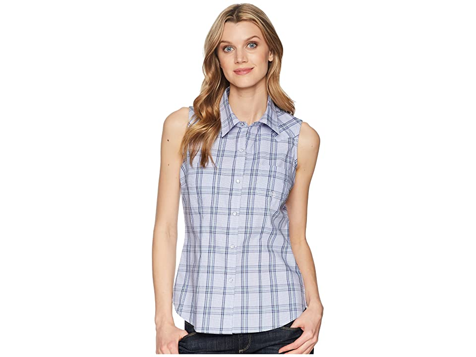 Roper 1522 Coal Creek Check (Purple) Women