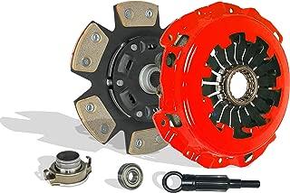 Clutch Kit works with Subaru Impreza Baja Forester 9-2X Turbo Xt Aero WRX Crew Cab Limited Wagon Sedan 2.0L 2.5L H4 GAS DOHC Turbocharged (6-Puck Disc Stage 3)