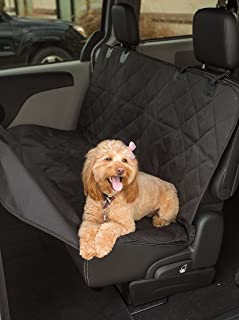 Internet's Best Car Bench Seat Cover - Seat Cover for Pets - Seat Protector Cover - Back Seat Dog Cover - Hammock Convertible - Water Resistant