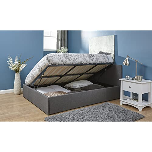 Small Double Bed with Storage: Amazon.co.uk