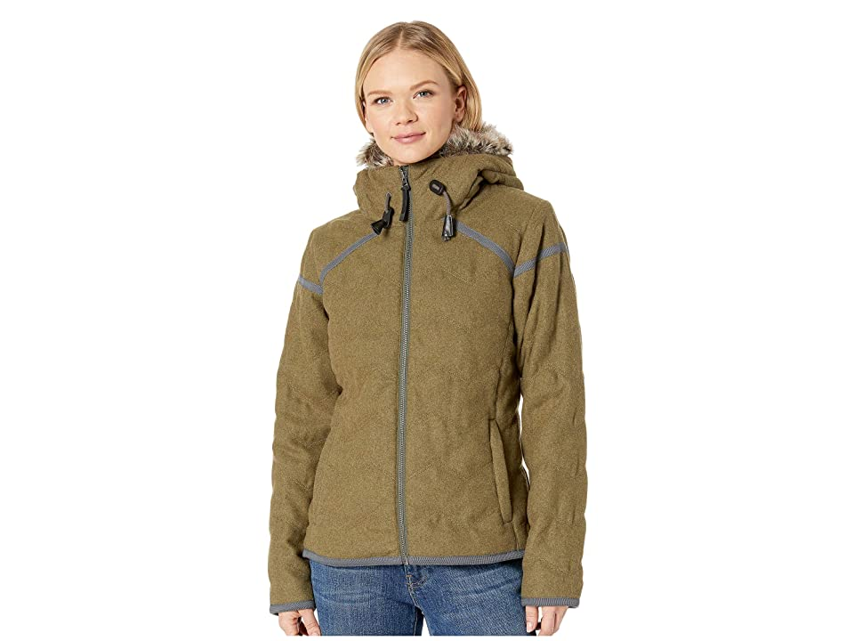 Prana Calla Jacket (Cargo Green) Women