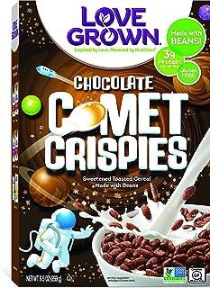 Love Grown Comet Crispies Cereal, 9.5 oz. Box, 6-Pack