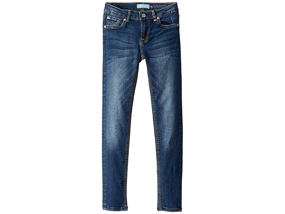Image of 7 For All Mankind Kids B (Air) The Skinny Denim Jeans in Echo (Big Kids) (Echo) Girl's Jeans