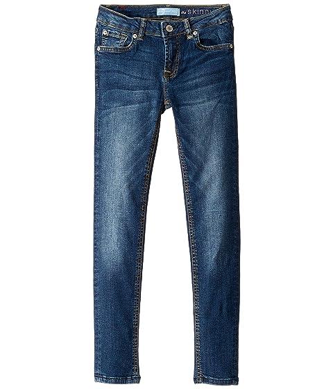 b0f9f1224 7 For All Mankind Kids B (Air) The Skinny Denim Jeans in Echo (Big Kids)