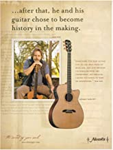 Alvarez Yairi Guitars - Bob Weir of The Grateful Dead - 2004 Print Advertisement