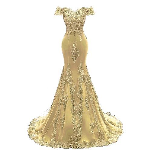 Mermaid Gold Dress