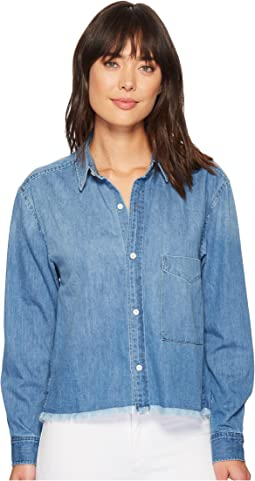 7 For All Mankind - Cut Off Denim Shirt