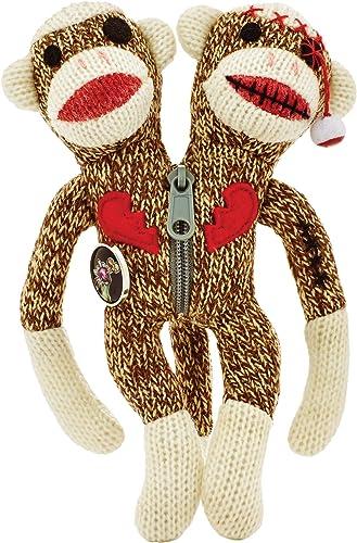 Yarn Zombies Sock Monkey Sokz The Bi-Polar JUJU by Kids Preferrot