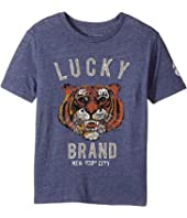 Lucky Brand Kids - Lucky Tiger Short Sleeve Graphic Tee (Little Kids/Big Kids)