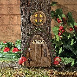 Best Fun Express Garden Gnome Home Door in a Tree Art Pieces Outdoor Yard Decor Review