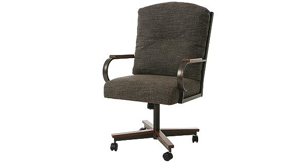 Impacterra QLCX1601900137 Caxton Caster Chair Arcadia Brown