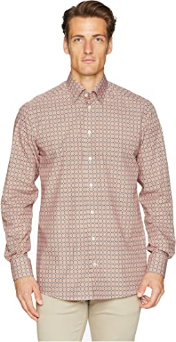 Contemporary Fit Medallion Print Shirt