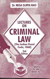 Lectures on Criminal Law (Indian Penal Code)