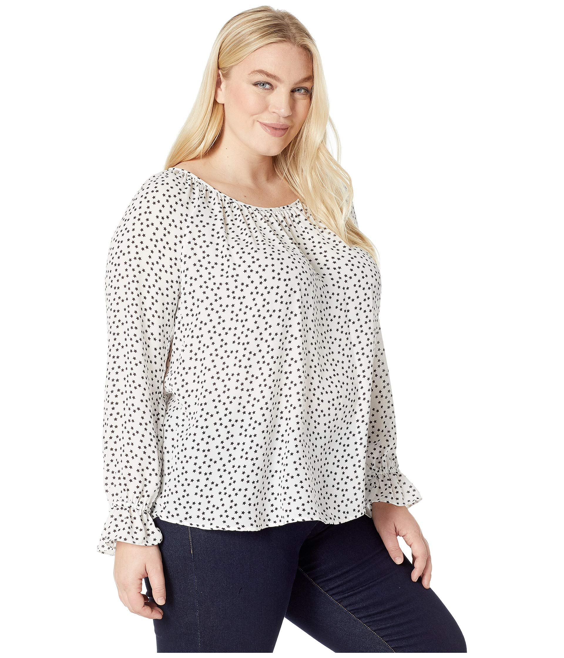 Star Size Karen Top Plus Kane Print xvpwp8q